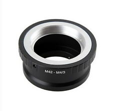 NEW Mount adapter For M42/Universal lens to M4/3 digital cameras