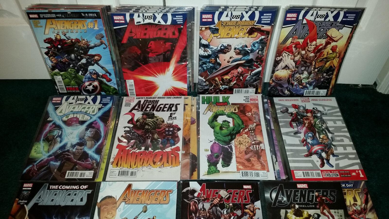 Avengers AVX Tie-Ins Avengers Assemble Assemble Assemble Uncanny Secret Academy One-Scaliente Hulk + 92d40e