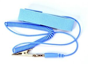 Back To Search Resultstools Free Shipping Posh Esd Adjustable Wrist Strap New Anti Static Antistatic Esd Adjustable Wrist Strap Band Grounding Clip Power Tool Accessories
