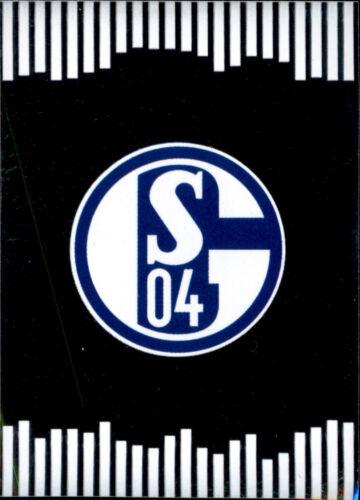 Sticker 232 TOPPS Bundesliga 2017//2018 FC Schalke 04 Logo