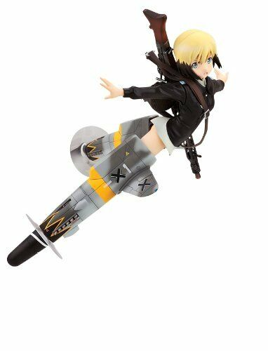 New In Box Alter Strike Witches 2 Erica Hartmann 1/8 PVC Figure Japan Authentic