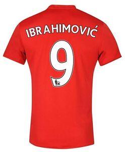 Details zu Trikot Adidas Manchester United 2016 17 Home Ibrahimovic 9 [128 bis 3XL]