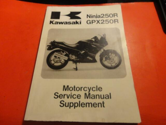 Oem Factory Kawasaki Service Manual Supplement 19 Chapters