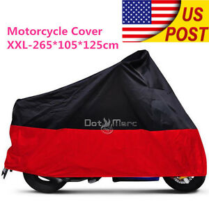 XXL Waterproof Motorcycle Cover For BMW K R S 75 80 100 1100 1200 1300 1600 Rain