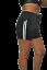 Damen-Short-Fitness-Short-Sport-Bade-Short-Allround-Pant-mit-Streifen Indexbild 3