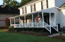 Plans How To Custom Build a Wood Half Truss Veranda Roof Porch Post Wall Support