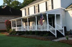 Plans How To Custom Build A Wood Half Truss Veranda Roof Porch Post
