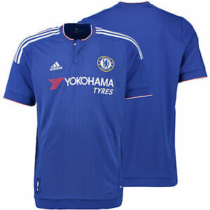 dd72311aedfe CHELSEA FC ADIDAS HOME JERSEY 2015 2016 FOOTBALL CLUB SOCCER TEAM ...