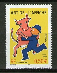TIMBRE-3556-NEUF-XX-LUXE-BAL-DES-AFFICHES-DE-RAYMOND-SAVIGNAC