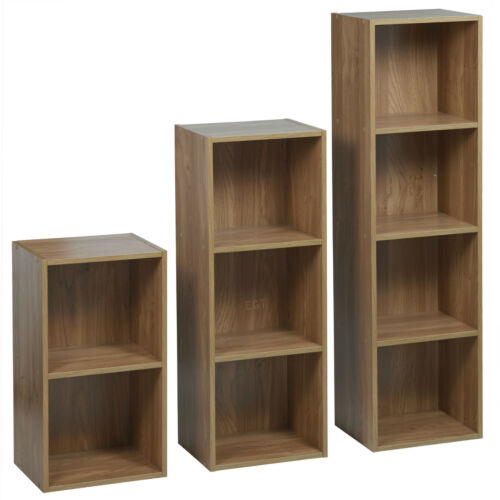 3 1 4 Brett Holz Bücherschrank Regal Display Aufbewahrung Würfel 2