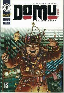 Katsuhiro-Otomo-039-s-Domu-A-Child-039-s-Dream-NM-Vol-1-of-3-Rare-Dark-Horse-Akira