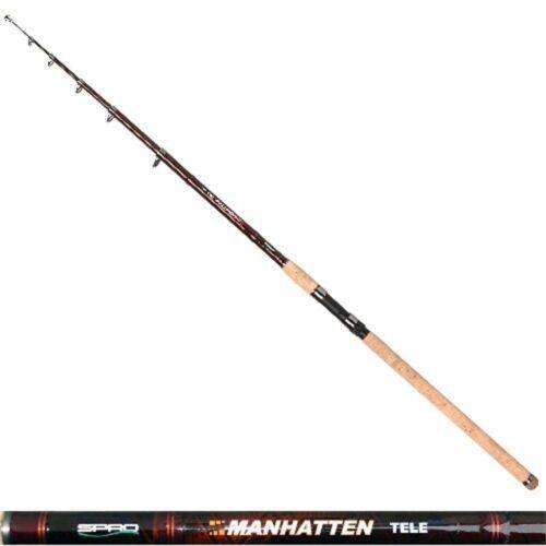 Spinrute Manhatten Tele Top Carbon 3,00m 50-120g Wg