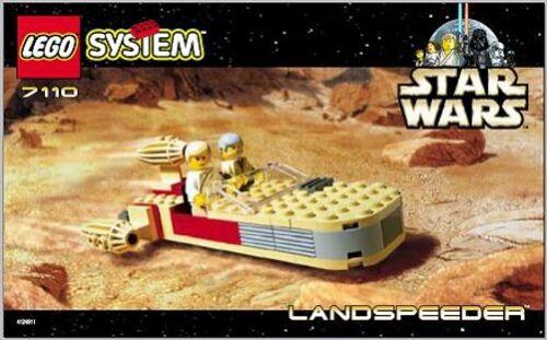 INSTRUCTION MANUAL Instructions for LEGO 7110 Star Wars: Landspeeder