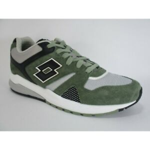 Casual Marathon Uomo Lotto 211149 Leggenda Verde Scarpe Nero Nuovo 1yb Sneakers YAqzp