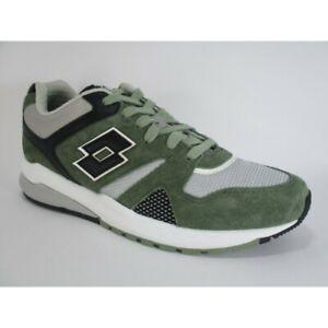 Nuovo 211149 Marathon Nero Verde Leggenda Casual Scarpe Lotto Uomo Sneakers 1yb PqOwTPAp