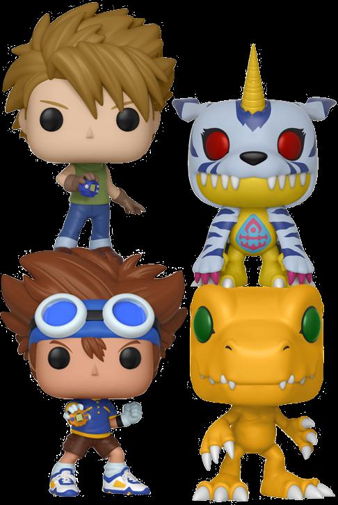 FUNKO POP  Digimon - DigiDestined Bundle (Set of 4)