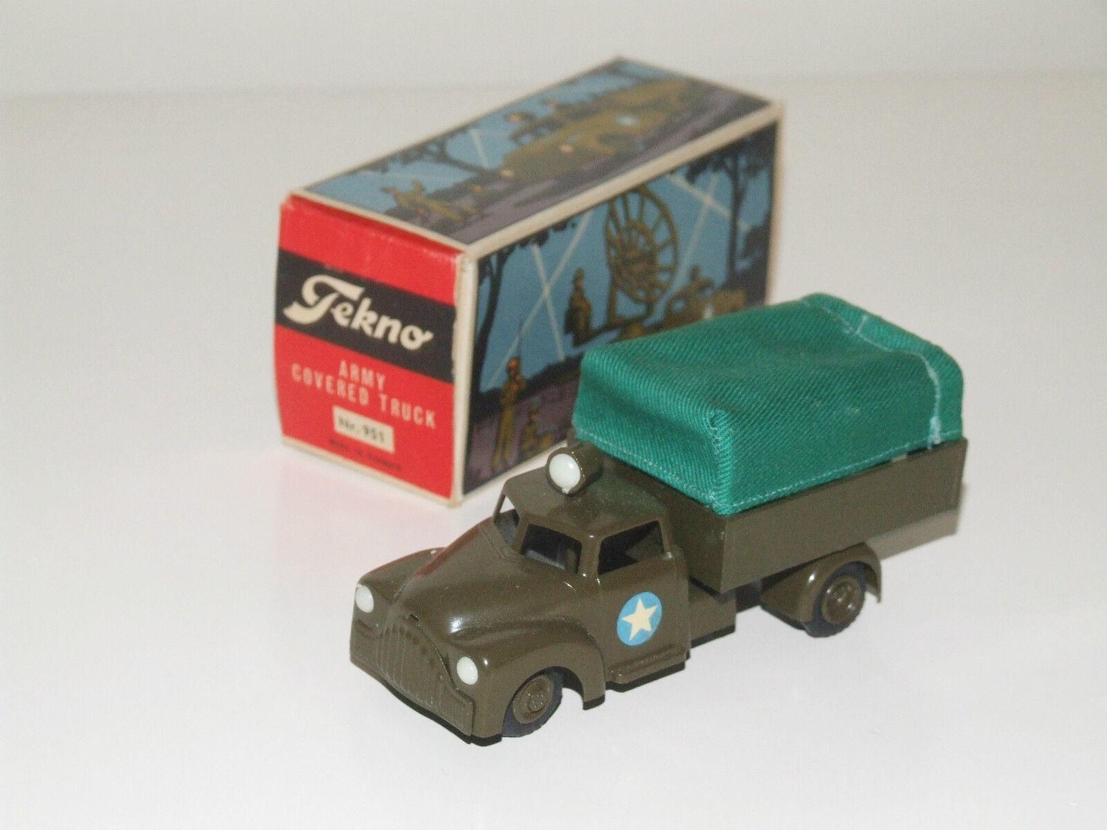 TEKNO 951 Couverts  Armée camion  de gros