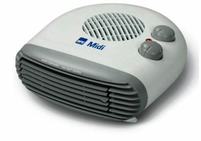 Termoventilatore con Termostato regolabile 1000-2000 W DPE MIDI ricondizionato