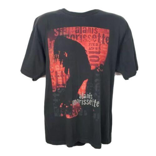Alanis Morissette 1996 Tour Concert T-shirt Jagged