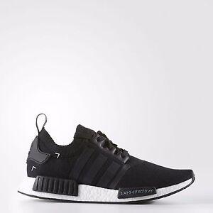 Adidas NMD PrimeKnit PK size 12.5. Black White Japan. S81847. ultra ... a855254a69