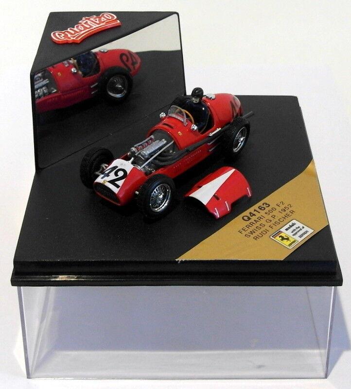 Quartzo 1/43 Scale Q4163 - Ferrari 500 F2 - Swiss GP 1952  42 R.Fischer