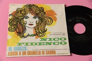 """NICO FIDENCO 7"""" VA RAGAZZO ORIGINALE 1968 NM !!!!!!!!!!!!!!"""