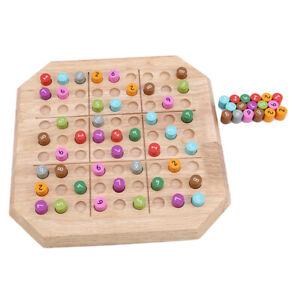 Ajedrez-De-Madera-De-Memoria-De-Juegos-De-Escritorio-Adulto-SUDOKU-puzzles-Board-Para-Ninos-Juguete