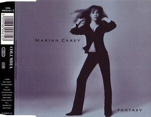 Mariah-Carey-Maxi-CD-Fantasy-Europe-EX-M