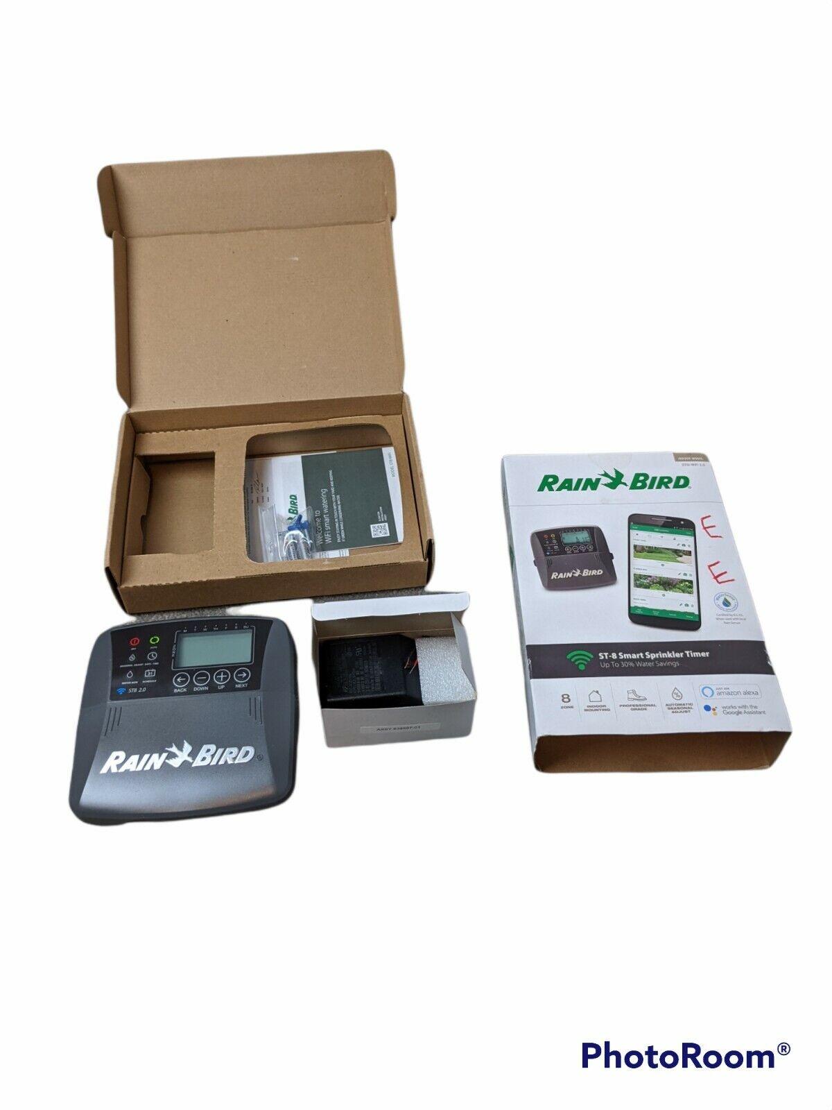 Rain Bird ST8I-2.0 8-Zone Indoor Irrigation System Controller NEW OPEN BOX