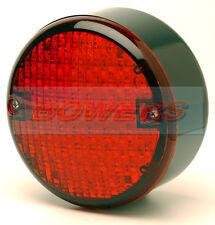 24V VOLT LED REAR 140mm ROUND HAMBURGER FOG LAMP LIGHT TRUCK LORRY TRAILER