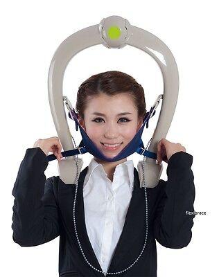 Neck Support Brace Cervical Traction Device Head Back Shoulder
