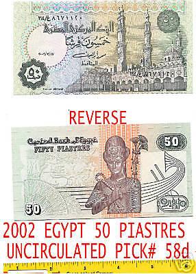 EGYPT , P62 50-PIA , 2017 , UNC