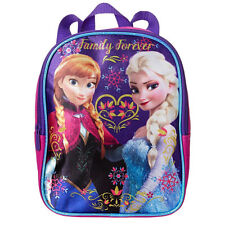 59f00bd7ead Disney Frozen 11 Mini Toddler Pre-school Backpack - Elsa and Anna ...