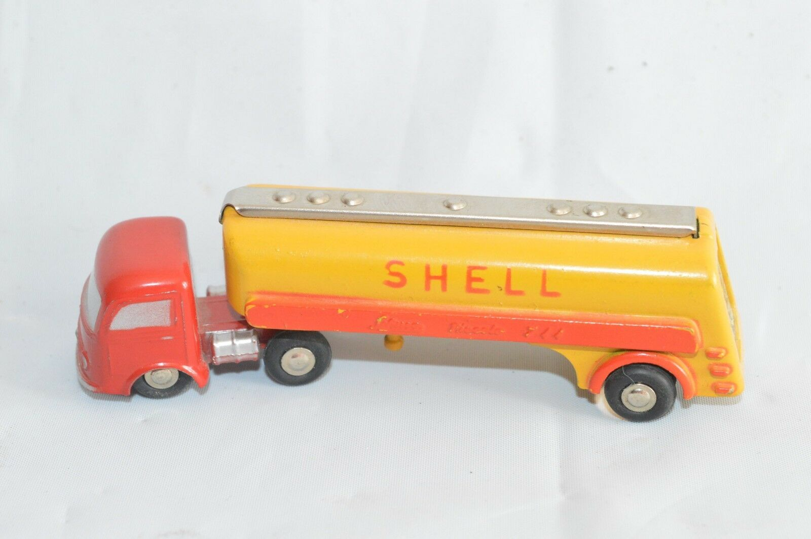 Schuco Piccolo ancien ORGINALES model   744 Shell WEST GERMANY Bac 3