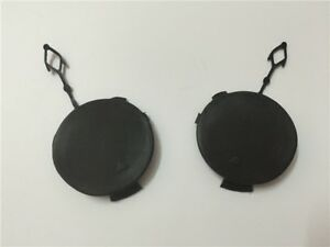 Pair Front Bumper Tow Hook Eye Cover Cap for BMW X6 E71 E72 Hyb 08-14 09