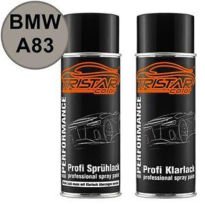 Autolack-Spraydosen-Set-BMW-A83-Glaciersilber-Metallic-Glacier-Silver-Metallic