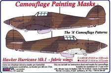 AML Models 1/72 CAMOUFLAGE PAINT MASKS HAWKER HURRICANE Mk.I FABRIC WINGS A PATT
