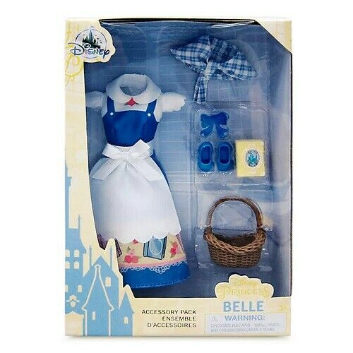 Disney Beauty and The Beast Belle Classic Doll Accessory Pack BNIB
