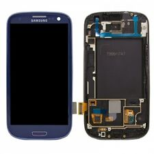 Samsung Galaxy S3 GT-i9300 i9300 LCD Touch Screen Digitizer Assembly + Frame