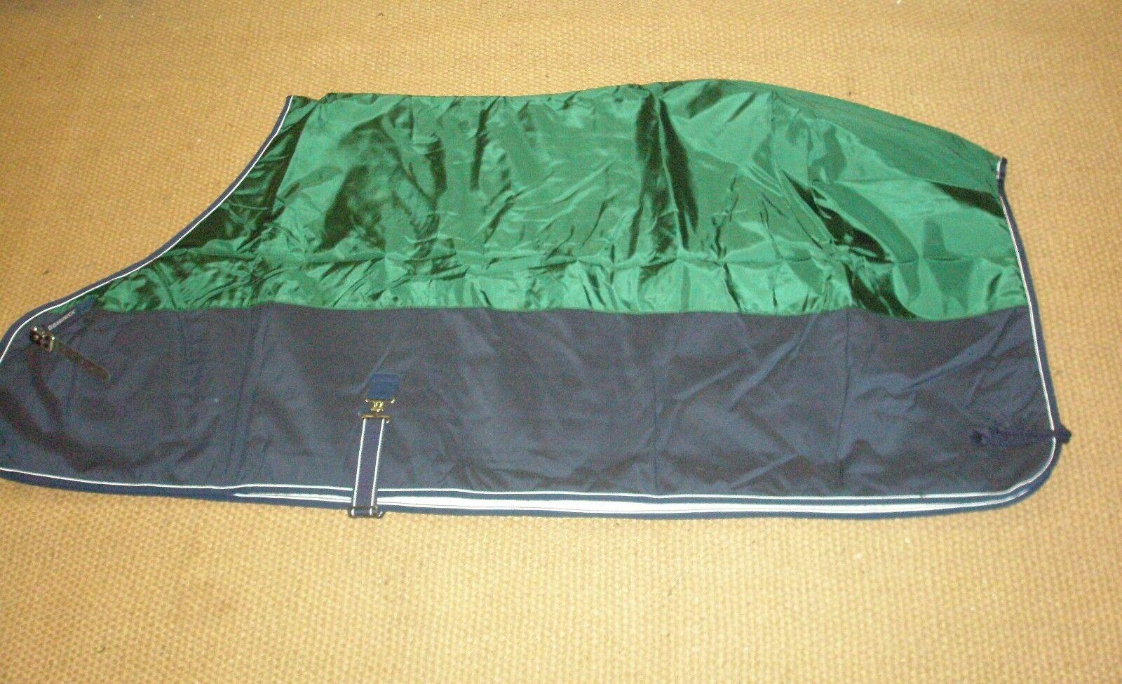 Dominick Liberty Combi peso mediano Estable Alfombra Estándar Cuello-Azul marino + verde