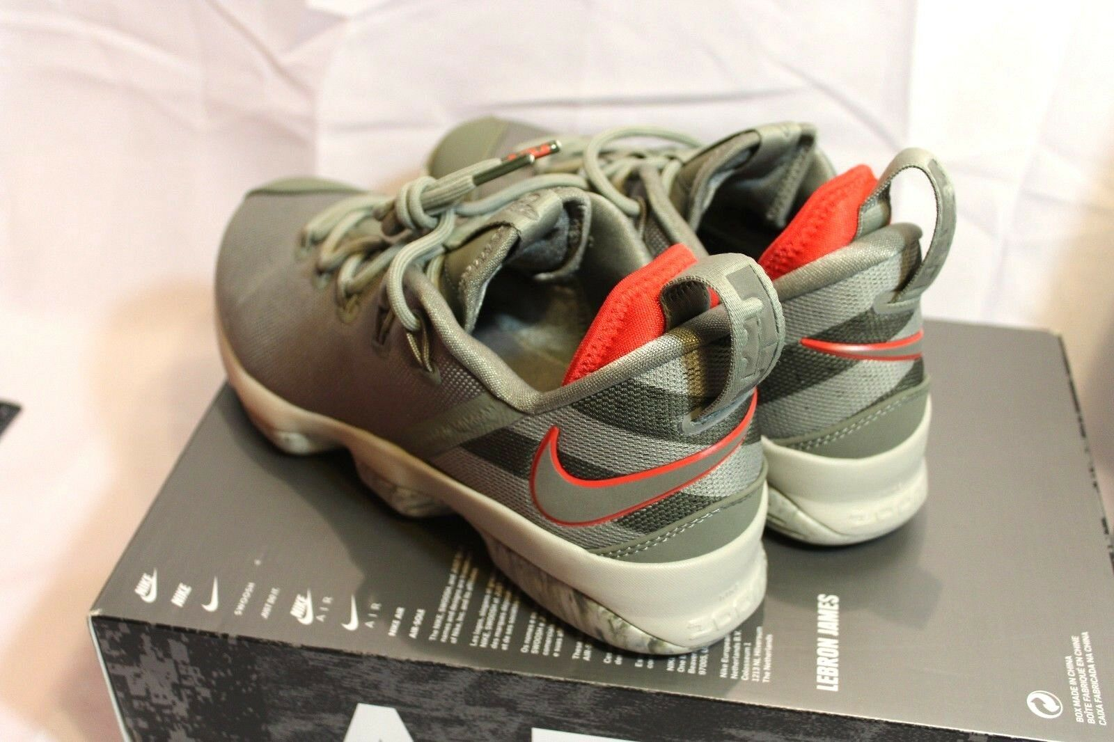 neue männer nike air zoom lebron james athletic xiv niedrigen dunklen stuck athletic james / basketball - schuh 458e12
