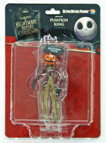 Medicom UDF-278 Ultra Detail Figure The Nightmare Before Christmas Pumpkin King