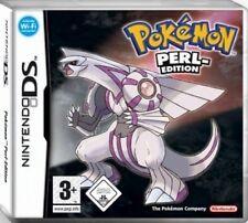NINTENDO DS 3DS POKEMON PERL EDITION * DEUTSCH Top Zustand
