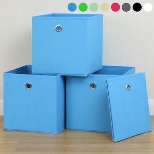 Foldable-Cube-Fabric-Storage-Box-Drawer-Toys-Books-Clothes-Shelving-Organiser
