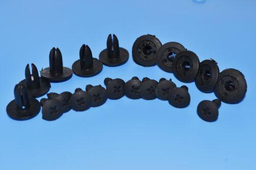 10PCS MERCEDES-BENZ BODY INTERIOR PANEL FIT SCREW RIVET /& RIVET 7-8MM TRIM CLIP