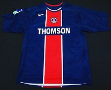 PSG 04-05 Pauleta Home Shirt Paris Saint Germain Maillot Portugal Jersey Trikot