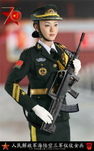 Last Toy 1//6 Chinese PLA Female Army Guard of honor Soldier Figure Model