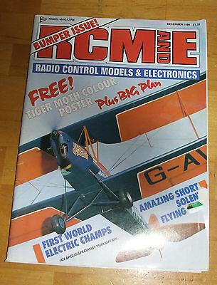 1986 Rcm&e Magazine December-mostra Il Titolo Originale