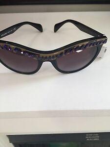 e38c2c82711 Image is loading Prada-SPR04P-Cat-Eye-Sunglasses-04PS-with-Crystal-
