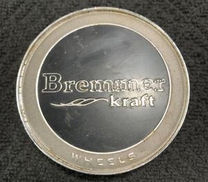 Bremmer-C-195-1-Chrome-Custom-Wheel-Center-Rim-Cap-Lug-Cover-Aftermarket-AM398